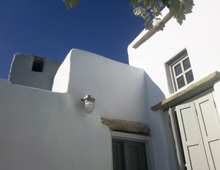Residence restoration in Tinos