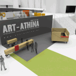 proposal for the entrance / Art Athina 2009