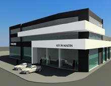 Aston Martin showroom, Athinon Av., Athens