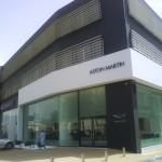 Aston Martin showroom in Athens / after