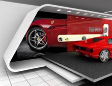 Πρόταση για Ferrari stand σε έκθεση αυτοκιμήτου