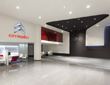 Citroen Showroom, Kifisias Av., Athens