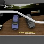 3d visual for Jeep Stand