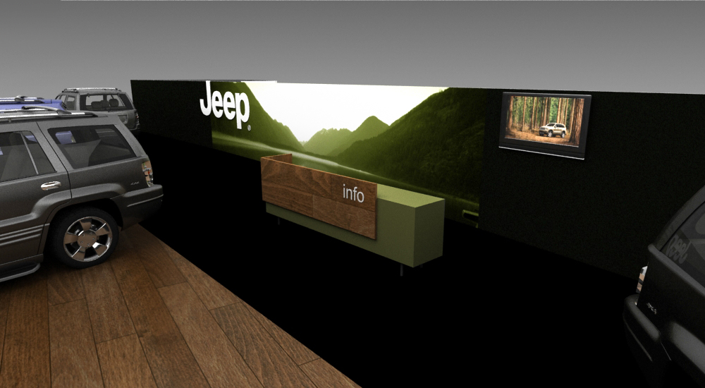 stand jeep in the autokinisi cwm fx 2014 exhibition. Cars Review. Best American Auto & Cars Review