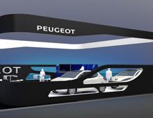Περίπτερο Peugeot στην έκθεση Αυτοκίνηση CWM FX 2014