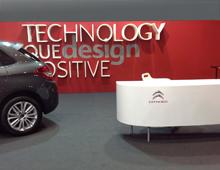 Περίπτερο Citroen στην έκθεση Αυτοκίνηση CWM FX 2014