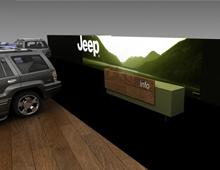 Περίπτερο Jeep στην έκθεση Αυτοκίνηση CWM FX 2014