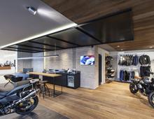 Έκθεση μοτοσικλετών BMW Μotorrad Rossignol